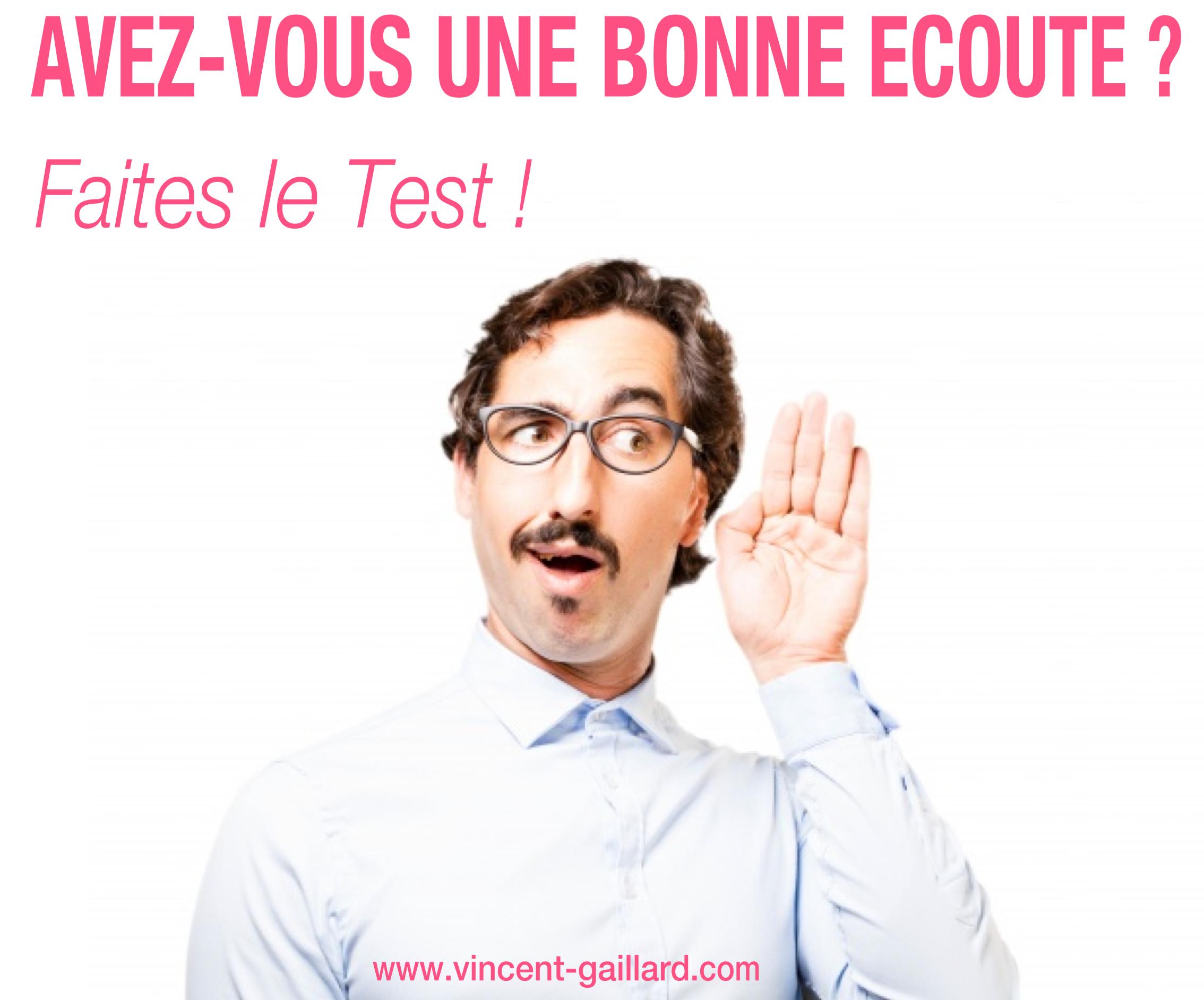 Test Bonne ECOUTE 2